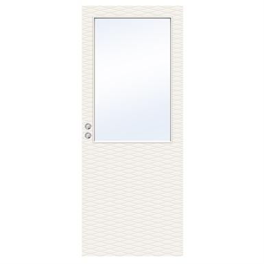 INTERIOR DOOR CHARISMA D200 GW13 SINGLE SLIDING IN WALL