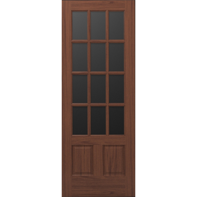 Wood French Door 12 Lite 2 Panel Interior Commercial Residential