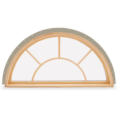 Integrity Wood Ultrex Round Top Window Integrity From