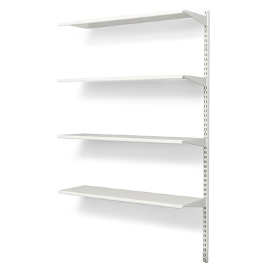 Wall Mounted Shelf 900x300 With 4 Shelves Extension Unit