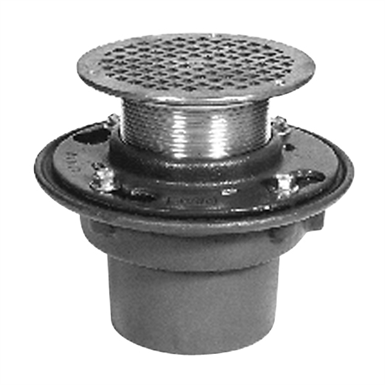 Z415b Nl Floor And Shower Drain Z415 Body Assembly With
