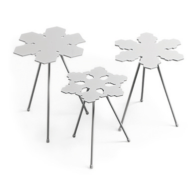 SNOWFLAKES TABLE H350 (Offecct) | Free BIM object for