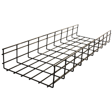 STAINLESS STEEL WIRE BASKET TRAY (Hubbell Wiring Device-Kellems ...