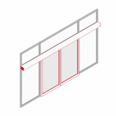 Sliding Door System St Flex Dormakaba Free Bim Object