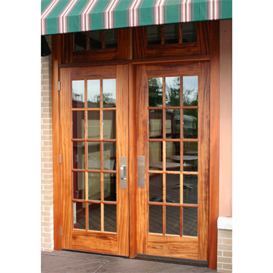 15 Lite Wood French Door Interior Commercial