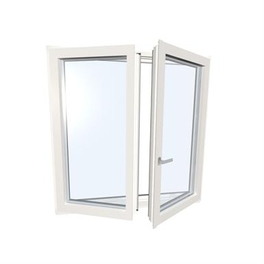 Window double upvc alu internorm kf310 5 internorm for Internorm fenster