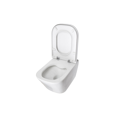 The Gap Rimless Wall Hung Wc Roca Free Bim Object For 3ds Max