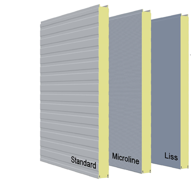 Pir Insulated Panel Promisol 174 V Arcelormittal