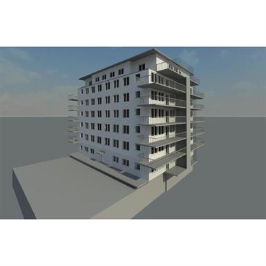 APARTMENT BUILDING REVIT 2014 (BIMobject Model Repository