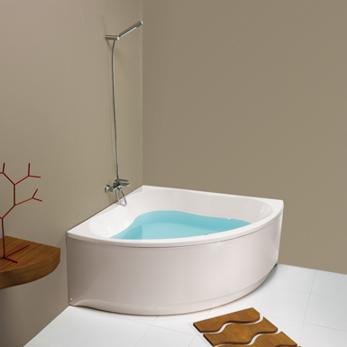 TREVO CORNER BATH. 1350X1350 MM. (Gala) | Free BIM object for 3DS ...