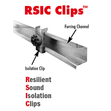 Noise S T O P Rsic 1 Resilient Sound Isolation Clip For