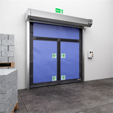 ASSA ABLOY HS9010PEM high speed emergency exit door