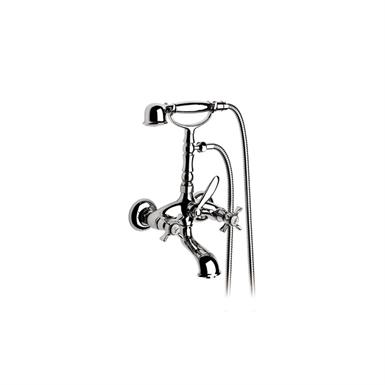 FLORENTINA WALL-MOUNTED BATH-SHOWER MIXER W/MANUAL