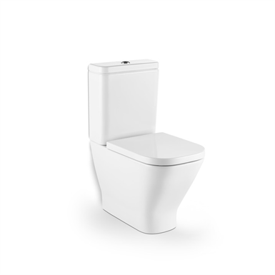 The gap wc back to wall roca free bim object for for Sanitarios roca modelos antiguos