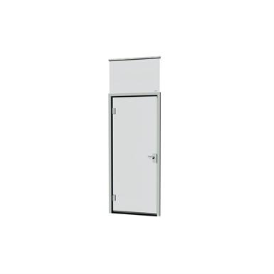 ALUMINUM FRAME DOOR FULLY GLAZED (Moelven Modus) | Free BIM object ...