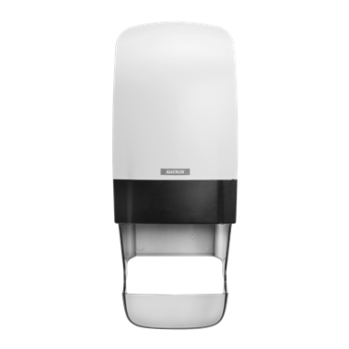 Inclusive Katrin System Toilet Dispenser With Core Catcher - White