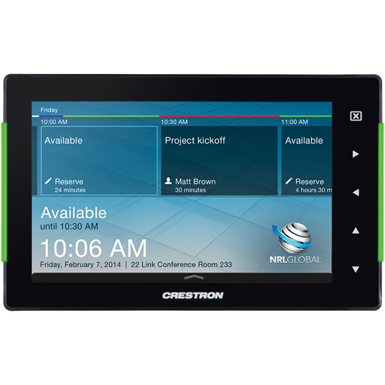 """7"""" ROOM SCHEDULING TOUCH SCREEN (Crestron Electronics Inc.) 