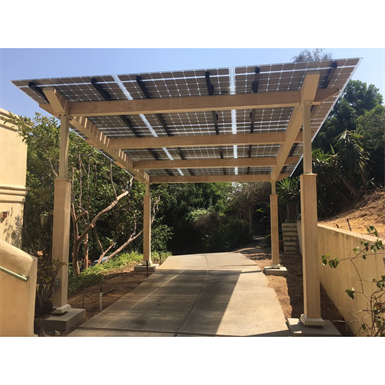 Solarscapes Awnings Amp Carports Lumos Solar Free Bim