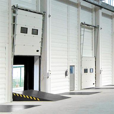 Sectional Overhead Door 601 Vertical Lift 40mm Panels