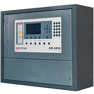 Fire Detection Control Panel Am6000 4n Notifier By
