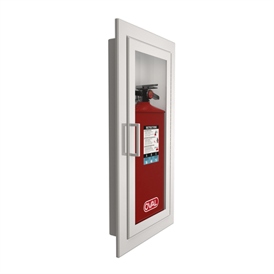Extinguisher Cabinet For Oval Brand Extinguisher Model