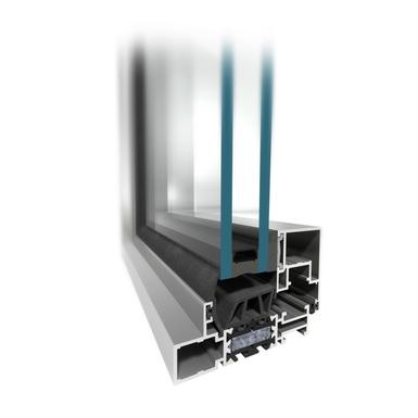 mb slimline 104 5 two winged tilt turn fixed window. Black Bedroom Furniture Sets. Home Design Ideas