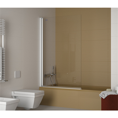 PLUS EVOLUTION GIRO SEPARATOR PIVOT DOOR FOR BATH Duscholux - Bathroom separator