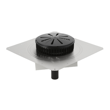 Geberit Pluvia Roof Outlet With Contact Sheet And