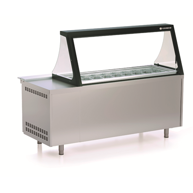 Refrigerated preparation counter pc80 200 coreco free for Kitchen set revit