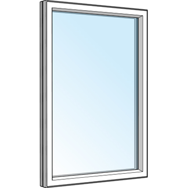 Fixed light window westcoast windows free bim object for Window object
