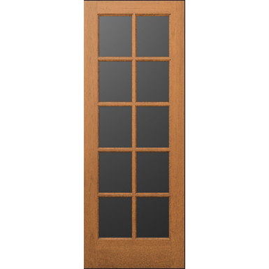 10 Lite Wood French Door Interior Commercial Residential With