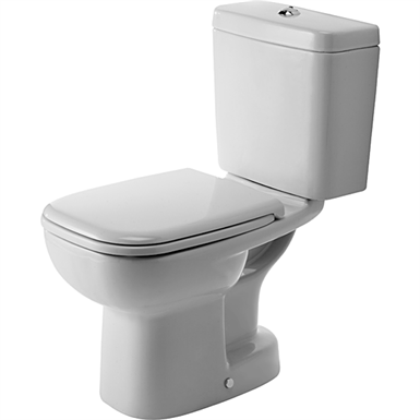 D code toilet close coupled 211101 duravit free bim - Duravit inodoros ...