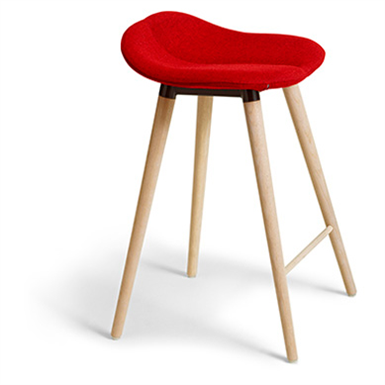 Duo Wood Bar Stool Offecct Free Bim Object For