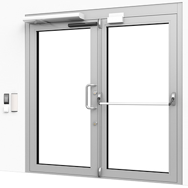 Exterior Door High Security Entrance Trioving Assa Abloy Free Bim Object For Archicad Revit