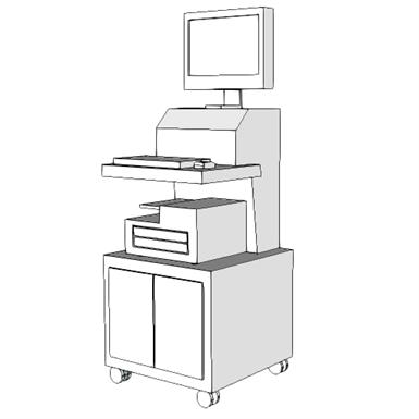 M4800 Urodynamic Measurement System W Video Seps2bim