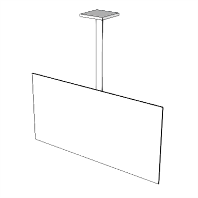 A5215 Bracket Television Ceiling Mounted Seps2bim