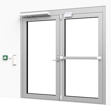 Double Door Secure Entrance Trioving Assa Abloy Free