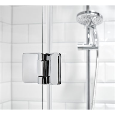 LUSSO SHOWER WALLS, STRAIGHT FOLDING DOORS 90X80 (Alterna) | Free ...