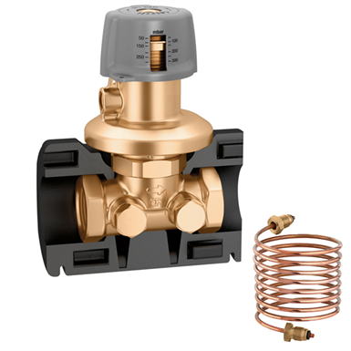 Differential pressure regulating valve (DPCV). With insulation