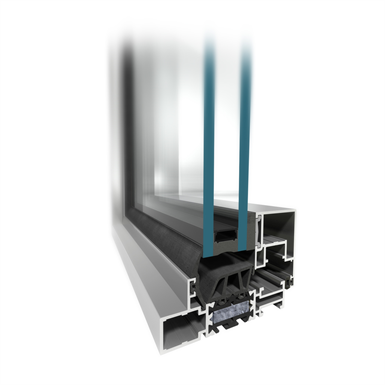 mb slimline 104 5 fixed window system with slim profiles. Black Bedroom Furniture Sets. Home Design Ideas
