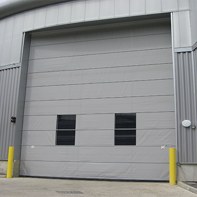 crawford garage doorsCRAWFORD VL3110 VERTICAL LIFTING FABRIC DOOR CrawfordEMEA