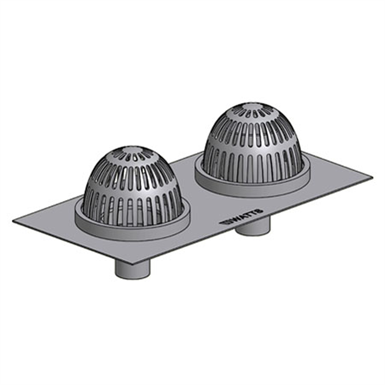 Combination Roof Drain Amp Secondary Overflow Rd 260