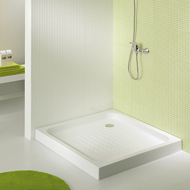 Elba Square Shower Tray 900x900