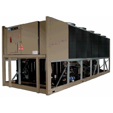 york ycav air cooled screw chiller 150 ton to 515 ton johnson controls inc free bim. Black Bedroom Furniture Sets. Home Design Ideas