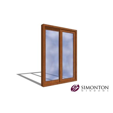 Simonton Sliding Doors >> Reflections 5500 Series Patio Door 2 Lite Simonton