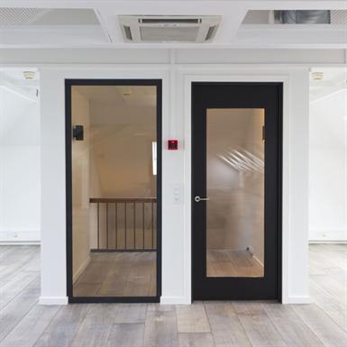 Deko Tg Wooden Glass Framed Doors Deko Free Bim Object For