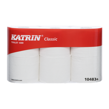 Katrin Toilet 2-Roll Dispenser - White