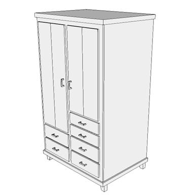 F0550 armoire resuscitation seps2bim free bim object for archicad rev - Fabriquer caisson armoire ...