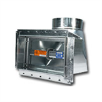 Series 50 - Ceiling Radiation Damper with Boot