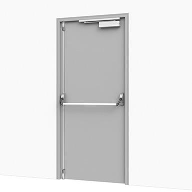Emergency Exit Door Solution Assa Abloy Be Objeto Bim